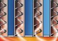 Теплообмінник з інтегрованою системою розрідження